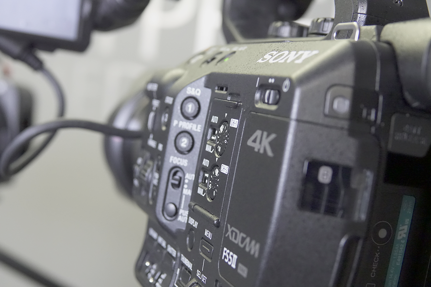Sony HD and 4K cameras